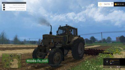 Отечественный трактор МТЗ-82 для FS