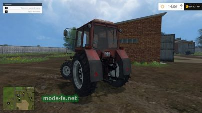 Турбированный трактор МТЗ-82.1