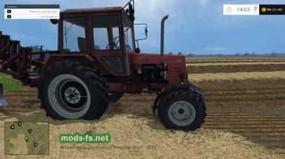 Мод МТЗ-82.1 для Фермер Симулятор 2015