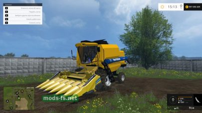 Мод комбайна New Holland 5090