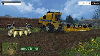Зерновой комбайн для Фермер Симулятор