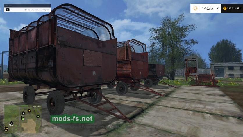 скачать моды для Farming Simulator 2015 птс - фото 8