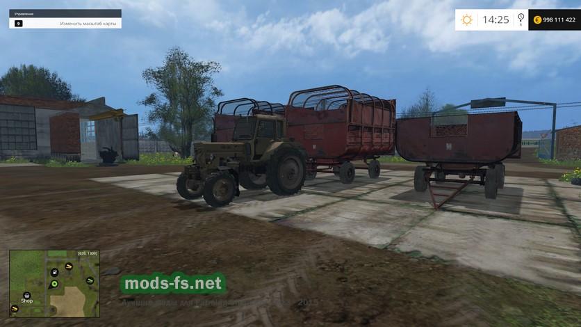 скачать моды для Farming Simulator 2015 птс - фото 11