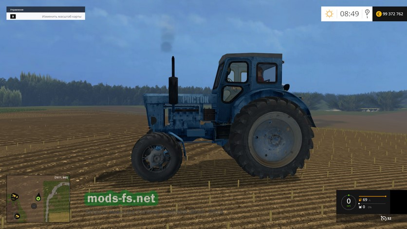 Скачать мод для farming simulator 2015 трактор т 40