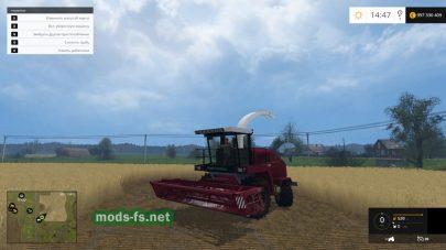 Силосоуборочный комбайн для Фермер Симулятор 2015
