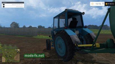 Новый мод трактор МТЗ-82