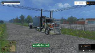 Тягач 6x6 PETERBILT для Фермер Симулятор 2015