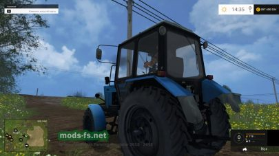 Мод МТЗ 82.1 для Farming Simulator 2015