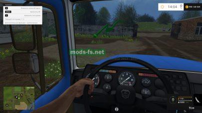 Приборная панель грузовика ГАЗ-САЗ
