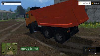 КамАЗ самосвал для Фермер Симулятор 2015