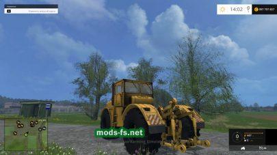 Мод трактора К700