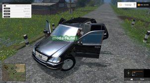 Мод Mercedes Benz ML 430