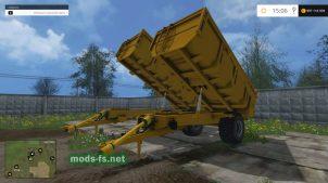 Набор разных прицепов для Фермер Симулятор 2015