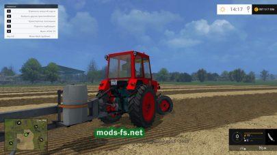 Мод трактора ЮМЗ-6КЛ