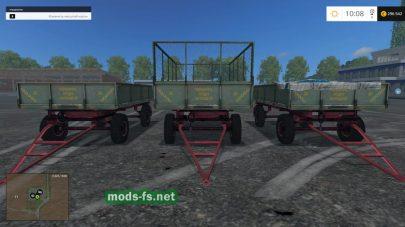 Прицеп для силоса в игре FS 2015