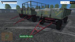 Прицеп для перевозки зерна