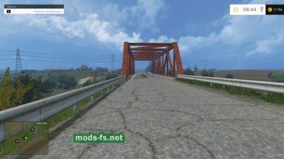 Мост на ферме