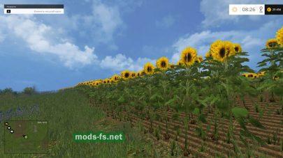 Новые культуры для Farming Simulator 2015