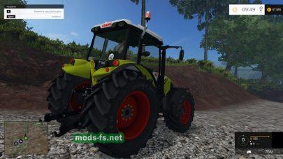 Трактор Claas Axos 330
