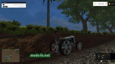 Мод трактора Fordson