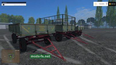 Набор прицепов для фермы