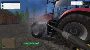 Как помыть трактор в FS 2015