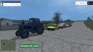 Мод RussianTrafficPack15