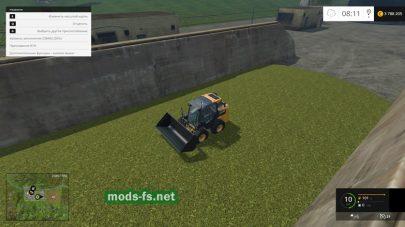 Делаем силос в Фермер Симулятор 2015 - прессуем силос в яме