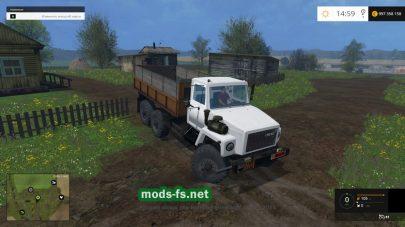 Грузовик ГАЗ-3309