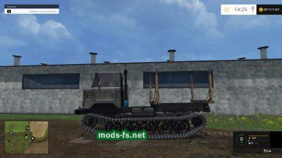 ГАЗ 66 для работы в лесу