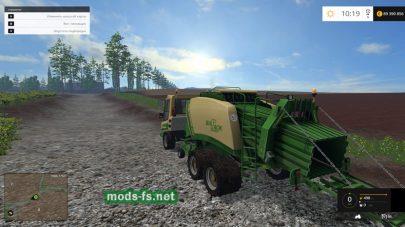 Подборщик для травы и соломы
