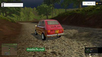 Легковой FIAT для Farming Simulator 2015