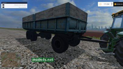 Русский прицеп для Фермер Симулятор 2015