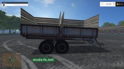 Два старых прицепа для Фермер Симулятор 2015