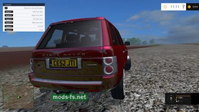 Мод легкового авто Range Rover