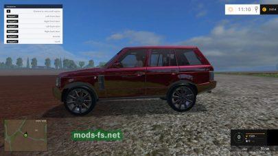 Красный Range Rover для Фермер Симулятор 2015