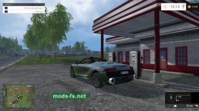 Мод Audi R8 V10 для Фермер Симулятор 2015