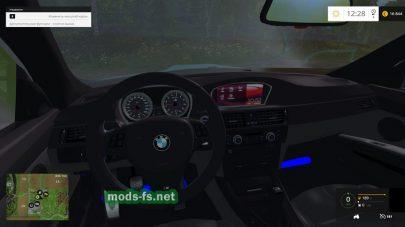 BMW M3: салон автомобиля
