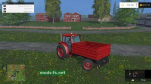 Трактор попрошайка для Farming Simulator 2015