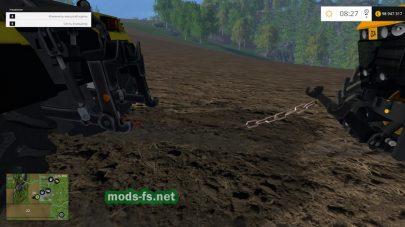 Мод буксировочной цепи для фермы
