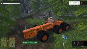 Трактор Chamberlain для фермы