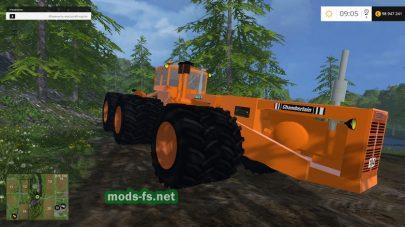 Большой трактор для Фермер Симулятор 2015