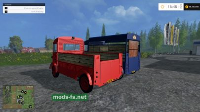 Citroen H Flatbed And Livestock