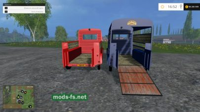 Мод двух автобусов Citroen