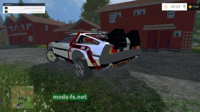 Мод автомобиля DELOREAN