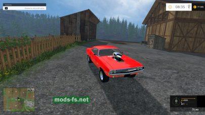 Мод Dodge Challenger для FS 2015