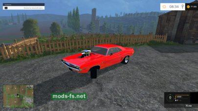 Мод автомобиля Dodge Challenger