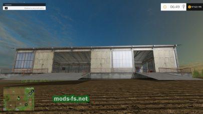 Большой гараж для фермы