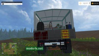 Мод грузовика IFA W 50