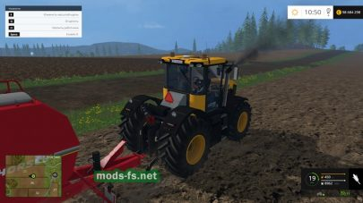 Мод трактора JCB 4220